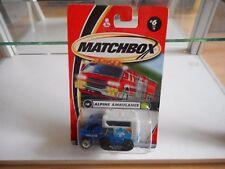 Matchbox Alpine Ambulance in Blue/White on Blister