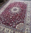 Fine Quality Handmade Chinese Area Rug 8'x11' Wool & Silk High Knot Count SALE!!