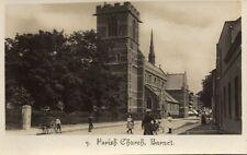 London - Parish Church - BARNET - Original Vintage Postcard (120L)