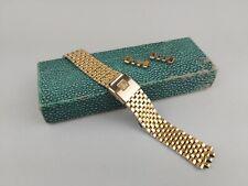 "Omega ""brick"" band strap bracelet Constellation Seamaster Chronograph ""779"" end"