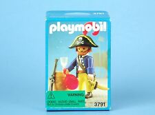 Vintage PLAYMOBIL Figure PIRATE With Barrel 3791 New UNOPENED BOX