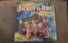 Ticket to Ride First Journey Board Game