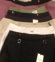 M&S Womens Classic Pull on Straight Leg Trousers Marks and Spencer *ALL COLOURS*