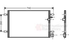 Kondensator Klimaanlage - van Wezel 03005237