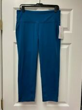 ATHLETA High Rise Chaturanga Capri NWT - LARGE TALL Coastal Teal $64