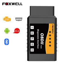Elm327 Obd2 Car Bluetooth Code Reader Scanner Automotive Diagnostic Tool Obdii