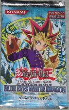 YuGiOh! 1st Edition Legend of Blue Eyes White Dragon Booster Pack! RARE! AUS/NZ