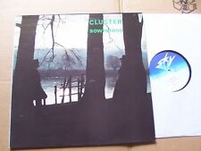 Cluster, Sowiesoso LP M -/VG + Sky Records 005 GERMANY 1976 pressione solo