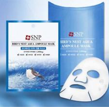 [US SELLER] SNP Bird's Nest Aqua Ampoule Mask 10 sheets/pack (Made in Korea)