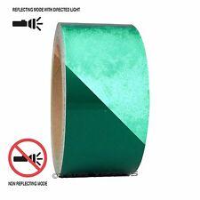 "1 Roll Green 2"" x 30 feet Reflective Engineering Grade Tape Pinstripe"