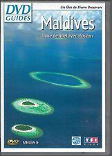 DVD ZONE 2--DOCUMENTAIRE GUIDES--MALDIVES - LUNE DE MIEL AVEC L'OCEAN--BROUWERS