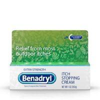 Benadryl Extra Strength Anti-Itch Relief Cream, 1 Oz
