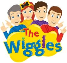 2 x The Wiggles Team T-Shirt for WHITE fabrics Iron On Transfer 10x10CMS