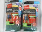Hanes Men's Boxer Briefs 8-PACK SIZE 2XL 3XL Tagless Underwear Random Colors