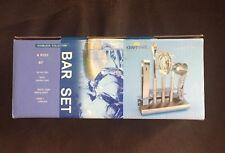 New KraftWare 6-Piece Stainless Steel Bar-Set 18/10