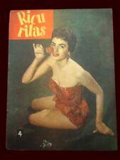 ISABEL COCA SARLI - RISQUE Magazine 1959 Ricuritas # 70 Argentina