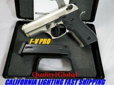 SPECIAL F-VENT METAL SATIN DICLE BERETTA Replica MOVIE PROP Pistol Gun Training