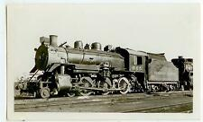 c1940s Canadian Pacific Railroad engine 665 photo at Calgary Alberta