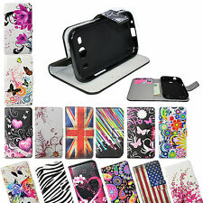 Stand Wallet Slots Card PU Leather Cover Case For Samsung Galaxy Ace 4 SM-G357FZ