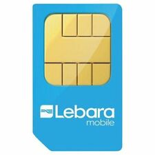 10 x Lebara Mobile Pay As You Go Sim Cards. Brand New. Fast Postage.