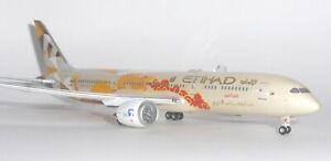 Boeing 787-9 Etihad Airways JC Wings Diecast Collectors Model Scale 1:400 -