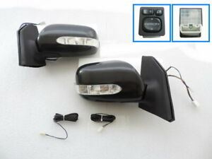 Power Fold LED Signal Side Mirror+SWITCH For 2003 ~2008 TOYOTA COROLLA  ALTIS