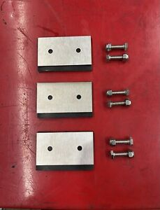 100% Stainless HONDA Snowblower Direct Fit Impeller Kit HS624 HS724 Track Model