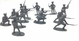 Vintage Airfix 1:32 French Infantry Waterloo 1815 X 14 Pcs