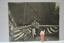 Launching SS MANGORE Ship , Apr 6 1922, Original Photo, Ore Steamship Co .