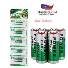5X A23 Ener-gizer FRESH Battery 12v Batteries GP23 23A 23GA MN21 USA Seller NEW