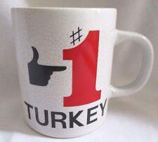 Vintage Norcrest #1 Turkey Coffee Cup Mug