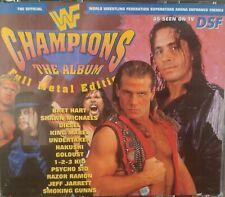 WWF Champions Full Metal Edition WWE selten KOMPLETT mit Poster,Tattoos,Booklet*