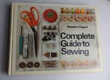 Vintage 1976 Readers Digest Complete Guide to Sewing Illustrated TIPS REFERENCE