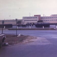 1967 Taiwan Tainan Air Base 7x7cm Vintage Slide Orig 9