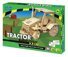 Build and Drive Tractor - Wooden R/C Tractor - Green Board Game Co.