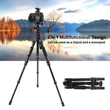 ZOMEI Q666 Portable Pro Mini Tripod Monopod &Ball Head for Canon DSLR Camera NEW