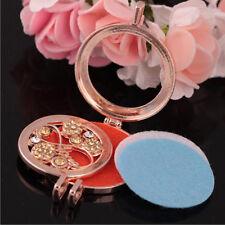 Rose Gold Love 3 Perfume Pads Love Romantic Long Bottle Pendant Necklace N534