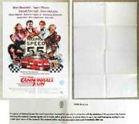 Filmplakat Cannonball Run  - Burt Reynolds  - USA 1981