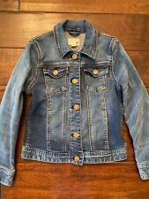 crewcuts jcrew denim jacket girls size 8