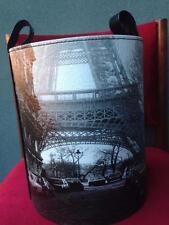 STUNNING PARIS EIFFEL TOWER BASKET, STORAGE CONTAINER. NEW.