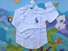 Kids Ralph Lauren Cotton Shirt Big Pony-size5 White