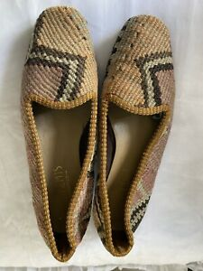 Artemis Design Co Womens Kilim Carpet Loafer Shoe Slipper sz 6 6.5  EUR 37. EUC!