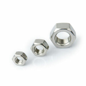 M2 M3 M4 Metal Nut Hexagonal Nuts Carbon Steel Nuts M2 M3 M4 Hex Nuts