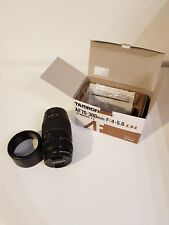 Tamron AF 70-300mm f/4-5.6 Di LD Tele-Macro (1:2) - Canon fit Lens