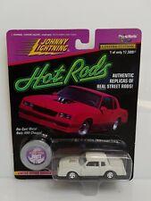 Rare Johnny Lightning Hot Rods Chevrolet Monte Carlo SS White Lightning Chase