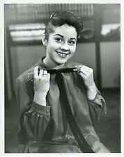 SHERRY JACKSON SMILING PORTRAIT MAKE ROOM FOR DADDY ORIGINAL 1956 ABC TV PHOTO