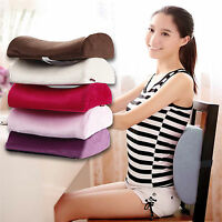 High-Resilience Memory Foam Lumbar Back Support Cushion Relief Pillow Car Seat
