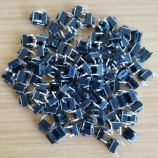 100pcs - New 6x6x5mm Momentary Tactile Push Switch DIP Button 4 Pins