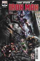 Iron-Man Comic Issue 13 Tony Stark Cover B Variant Crain 2019 Gail Simone