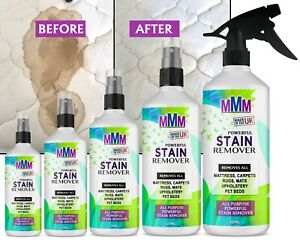 Mattress Stain Remover Urine Vomit Blood Pet Faeces Bed Wee Cleaner UK SPRAY